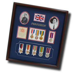 British Military Shadow Box